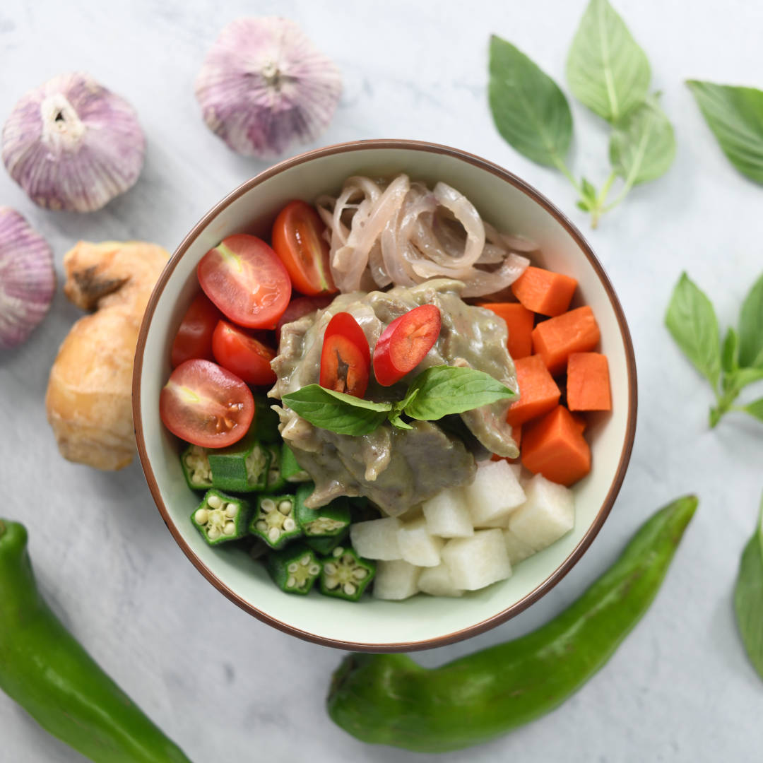 Fete Up Seasonal Menu Thai Green Curry Beef