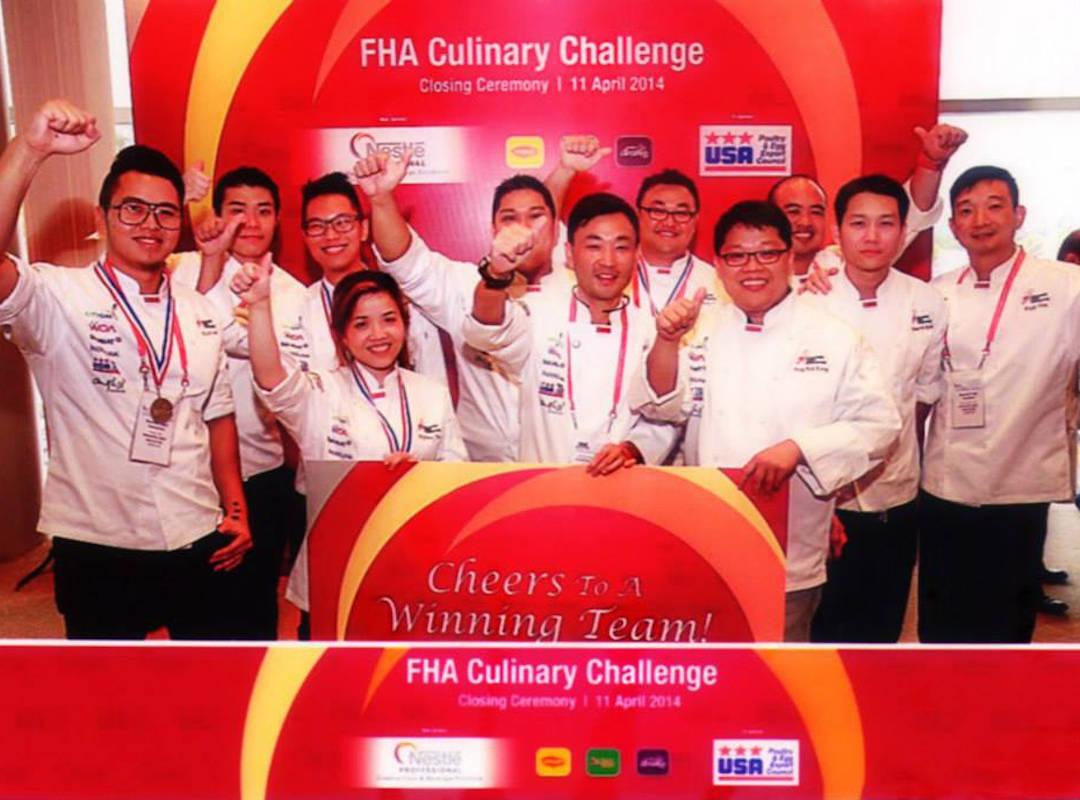 Team Singapore FHA Culinary Challenge 2014 Winner