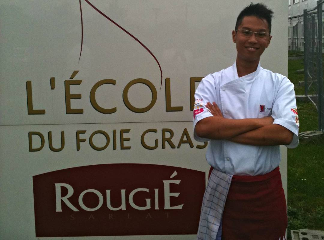 Fete Up Executive Chef William in France